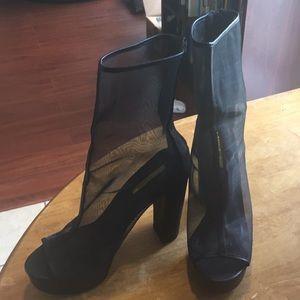 Black fashion nova heels